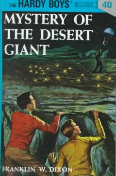 Mystery of the desert giant cover image