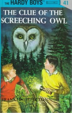 The clue of the screeching owl cover image