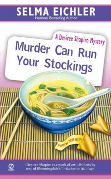Murder can run your stockings : a Desiree Shapiro mystery cover image