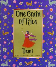 One grain of rice : a mathematical folktale cover image