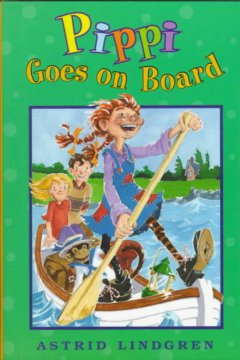 Pippi goes on board cover image