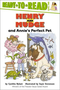 Henry and Mudge and Annie's perfect pet : the twentieth book of their adventures cover image