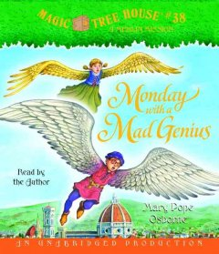Monday with a mad genius cover image