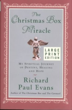 The Christmas box miracle my spiritual journey of destiny, healing, and hope cover image