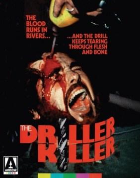 The driller killer [Blu-ray + DVD combo] cover image