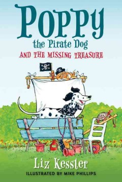 Poppy the pirate dog and the missing treasure cover image