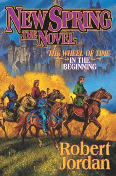 New spring : the novel cover image