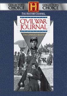 Civil War journal cover image