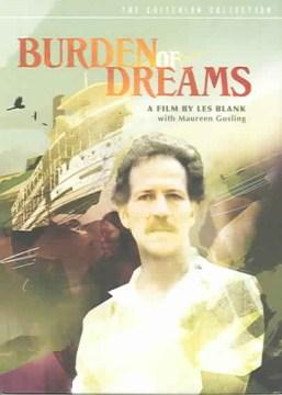 Burden of dreams cover image