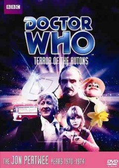 Doctor Who. Story 55, Terror of the autons cover image