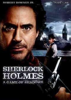 Sherlock Holmes a game of shadows cover image