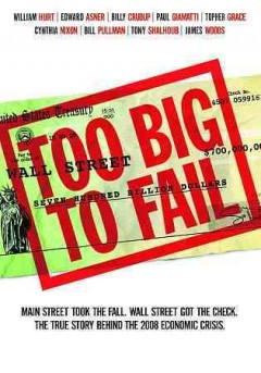 Too big to fail cover image