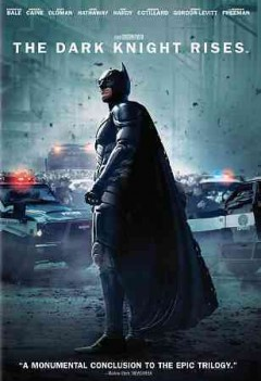The dark knight rises cover image