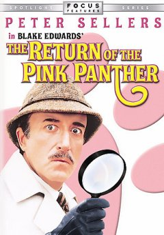 The return of the Pink Panther cover image