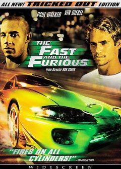 The fast and the furious cover image