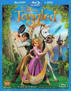 Tangled [Blu-ray + DVD combo] cover image