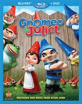 Gnomeo & Juliet [Blu-ray + DVD combo] cover image