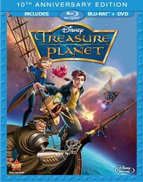 Treasure planet [Blu-ray + DVD combo] cover image