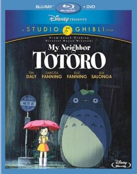 Tonari no Totoro [Blu-ray + DVD combo] My neighbor Totoro cover image