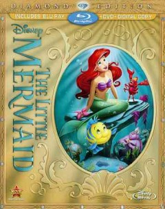 The Little mermaid [Blu-ray + DVD combo] cover image
