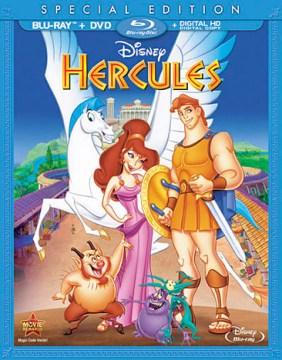 Hercules [Blu-ray + DVD combo] cover image