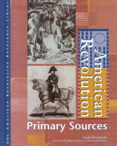 American Revolution : primary sources cover image