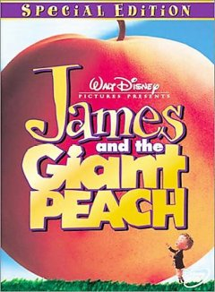 James and the giant peach cover image