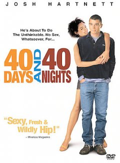 40 days and 40 nights cover image
