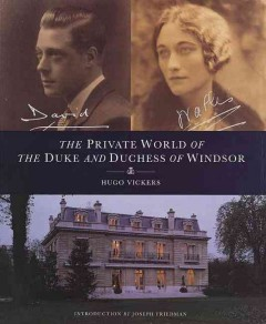 The private world of the Duke and Duchess of Windsor cover image
