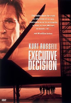 Executive decision cover image