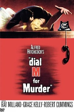 """Alfred Hitchcock's """"dial M for murder"""" cover image"""