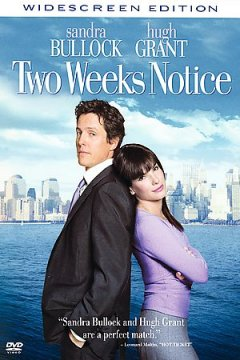 Two weeks notice cover image