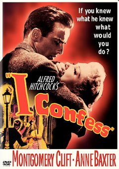 """Alfred Hitchcock's """"I confess"""" cover image"""