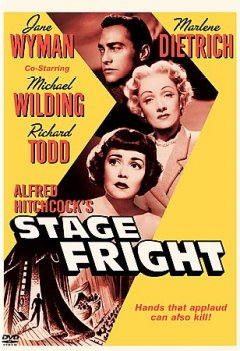 Alfred Hitchcock's Stage fright cover image