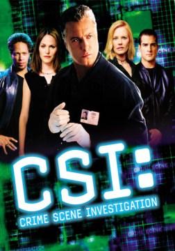 CSI: crime scene investigation. Season 2 cover image