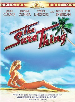 The sure thing cover image