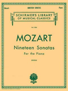 Nineteen sonatas for the piano cover image