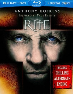 The rite [Blu-ray + DVD combo] cover image