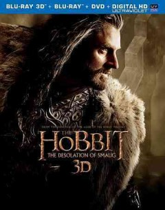 The hobbit. The desolation of Smaug [3D Blu-ray + Blu-ray + DVD combo] cover image