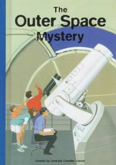 The outer space mystery cover image