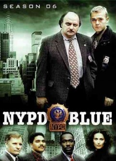 NYPD blue. Season 6 cover image