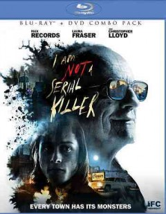I am not a serial killer [Blu-ray + DVD combo] cover image