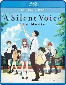 A silent voice [Blu-ray + DVD combo] the movie cover image