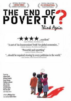 The end of poverty? cover image