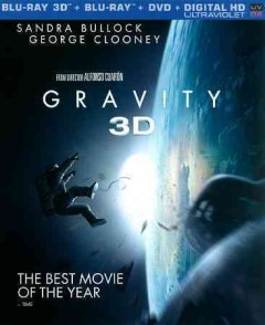 Gravity [3D Blu-ray + Blu-ray + DVD combo] cover image