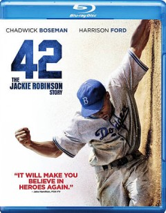 42 [Blu-ray + DVD combo] the Jackie Robinson story cover image