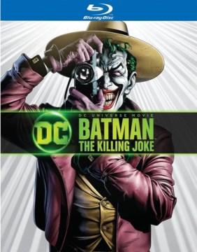 Batman [Blu-ray + DVD combo] the killing joke cover image