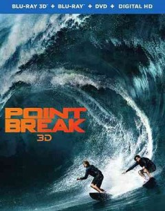 Point break [3D Blu-ray + Blu-ray combo] cover image