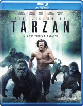 The legend of Tarzan [Blu-ray + DVD combo] cover image