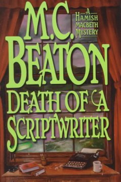 Death of a scriptwriter cover image